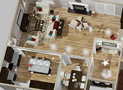 ER Home Designs 3D Floor Plan Image