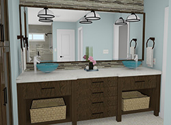 ER Home Designs Kitchen and Bathroom Renderings Image